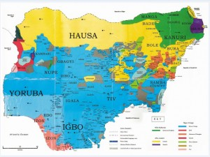 Ethnic-Map-of-Nigeria